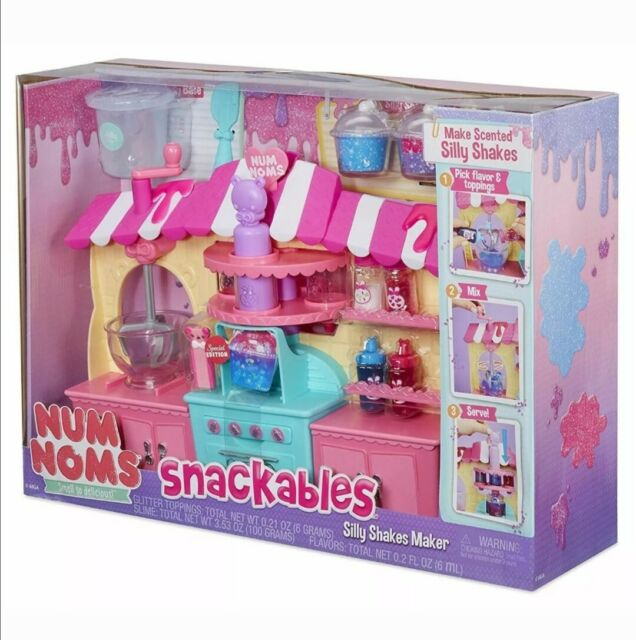 Num Noms Snackables Silly Shakes Maker Playset Collectable Gift Set RRP £39.99