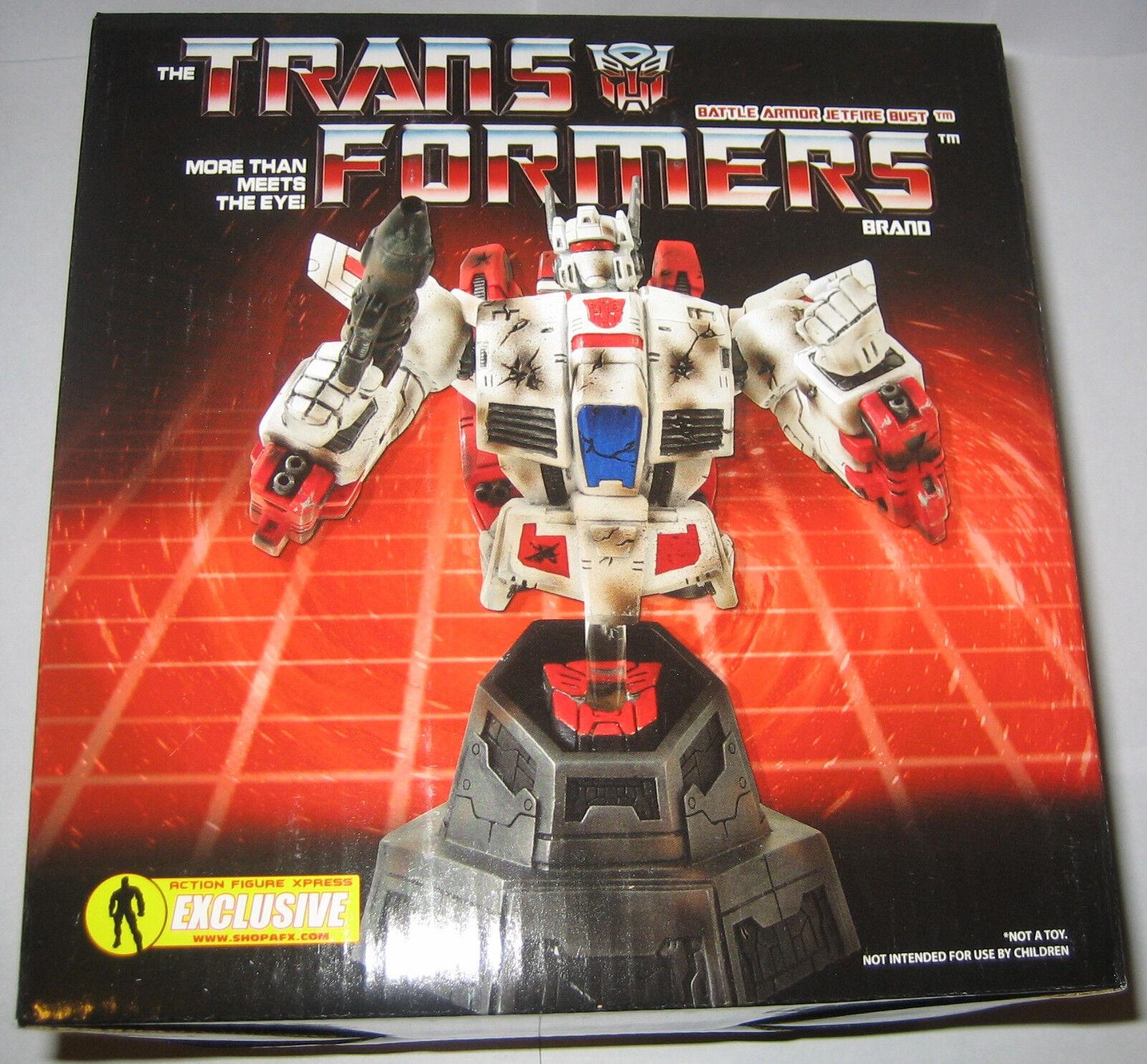 Transformers G1 Jetfire Battle Armor variante buste statue