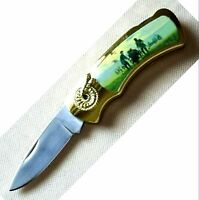 Taschenmesser Süd - Nordstaaten Csa Arkansas Texas Eyecatcher Pocket Knife