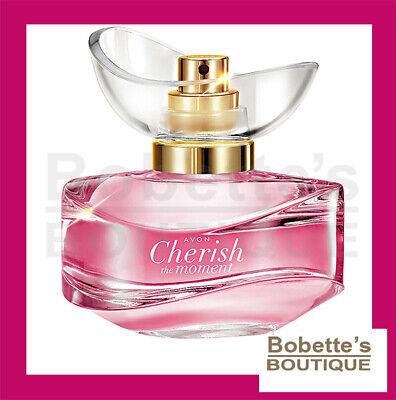 CHERISH THE MOMENT AVON Eau de Parfum pour Elle Vaporisateur 50 ML | eBay