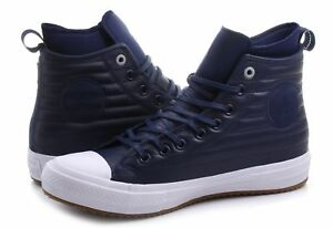 37e51ec6d95 Converse Chuck Taylor All Star CTAS Wp Boot Hi Blue Leather 157490C ...