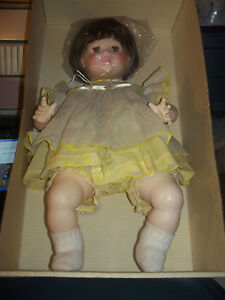 Reeves-Suzanne-Gibson-Baby-Doll-2017-Allison-20-inch-MIB-Pretty-Brown-Hair