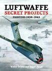 Luftwaffe Secret Projects: v. 1: Fighters, 1939-1945 by Ingolf Meyer, Walter Schick (Hardback, 1997)