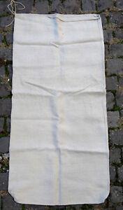 Antiker-Leinen-Sack-Mehlsack-Natur-Bauernleinen-Getreidesack-antique-linen-sack