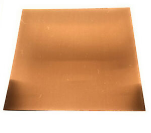 copper 26 gauge DIY metal jewelry sheet