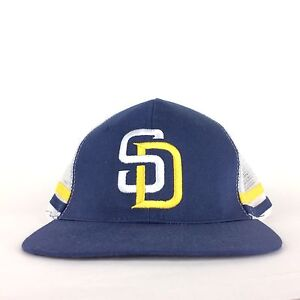 San Diego Padres COX Cable Baseball Mesh Hat Cap Adjustable