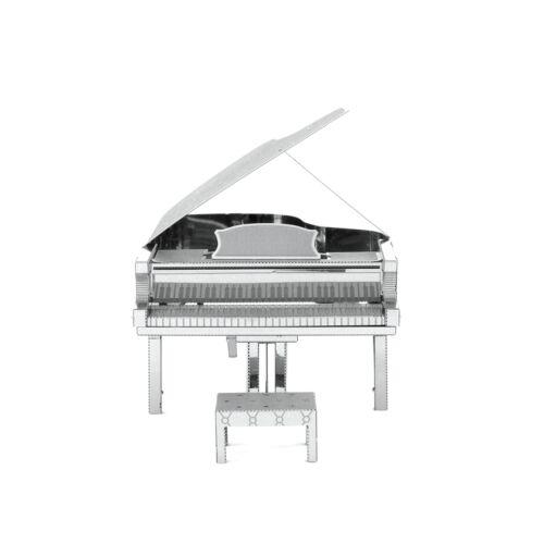Fascinations Metal Earth 3D Laser Cut Steel Instrument Model Kit Grand Piano