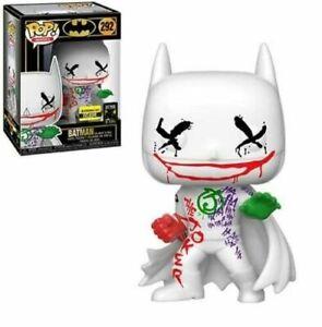 BATMAN-Joker-039-s-Wild-Funko-Pop-Vinyl-New-in-Mint-Box-EE-sticker-Protector