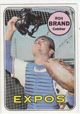 RON BRAND 1969 Topps card #549 Montreal Expos NR MT