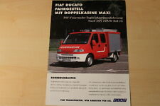 70391) Fiat Ducato Feuerwehr Prospekt 199?