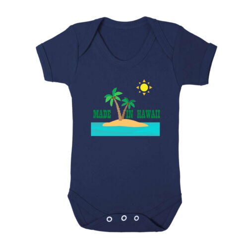 Made In Hawaii Cotton Baby Bodysuit One Piece