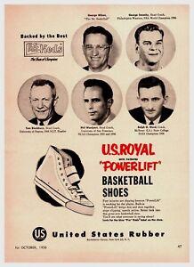 1956 U.S. Pro Keds Basketball Shoe