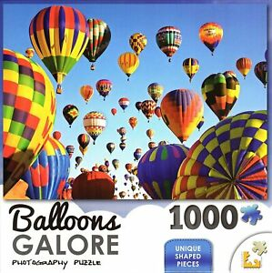 Balloons-Galore-Mass-Ascension-Albuquerque-1000-Piece-Jigsaw-Puzzle-Lafayette