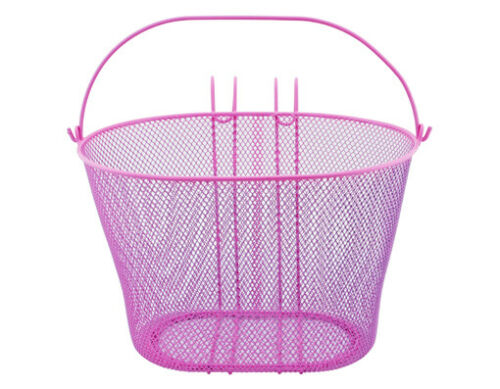 ORIGINAL lowrider Oval Steel Mesh Basket 21-H   3 different colors