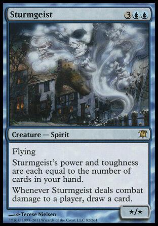 1x Sturmgeist Innistrad MtG Magic Blue Rare 1 x1 Card Cards