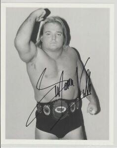 Greg-The-Hammer-Valentine-Autograph-Pre-Print-Wrestling-Photo-8x6-Inch