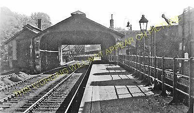 Jedfoot Railway Station Photo Nisbet Roxburgh Line 2 Jedburgh NBR.