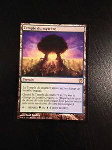 Magic the Gathering Rare 1x TEMPLE OF MYSTERY MTG Theros NM