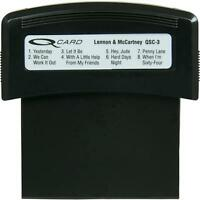 Suzuki Qsc3 Q-chord Song Cartridge - Lennon And Mccartney