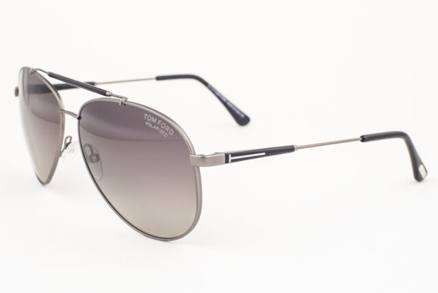 9d921d69c65 Tom Ford Rick Gunmetal 10d Polarised Sunglasses for sale online