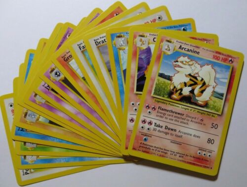 BASE SET Select your card Uncommon Pokemon Cards
