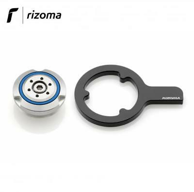 100% Vero Rizoma Tp030a Tappo Carico Olio Motore Bmw R1200gs 2004> R1200gs Adventure 2010> Design Moderno