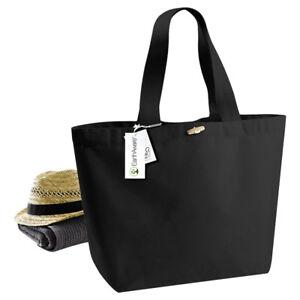 Westford-Mill-EarthAware-Eco-Organic-Marina-Tote-XL-Shopper-Womens-Beach-Bag-New