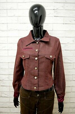 Giacca Atelier Barbara Schiavone Taglia M Donna Jacket Elastica Woman Cotone