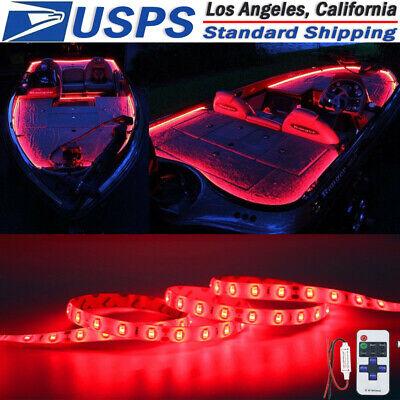 Red Led Boat Light Deck Waterproof 12v