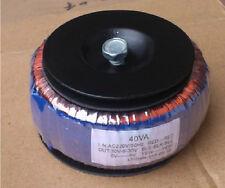 220V 40W tube amplifier Toroid transformer 210V-0  6.5V--0