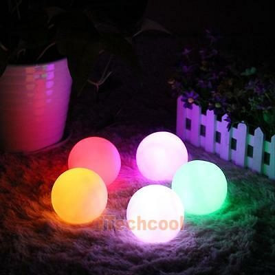 LED Color Changing Mood Ball Night Light Home Kid's Room Party Decor Xmas Lamp