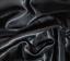 Tela De Satén De Calidad Negro Llano Vestido Artesanía Boda material de 150cm de ancho