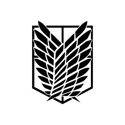 Attack on Titan Survey Corps - Vinyl Decal - Multiple Colors
