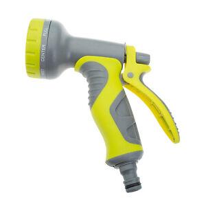 Image is loading Garden-Hose-Pipe-Gun-with-8-Pre-Set-  sc 1 st  eBay & Garden Hose Pipe Gun with 8 Pre-Set Functions u0026 Comfort Grip Handle ...