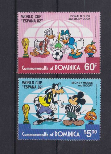 dominica 1982 Sc 751/2,two sets MNH g159