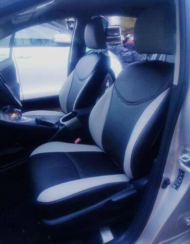 Luxury Japanese Gum Leather Car Seat Covers Full Set Toyota Prius /& Plus