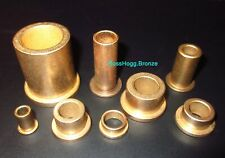 Flanged Oilite Bronze Bushing Bearings Oil Impregnated Pick Your Sizes