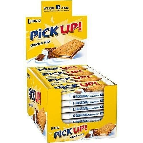 24x Bahlsen Leibniz PICK UP Choco Biscuits in Box from Germany