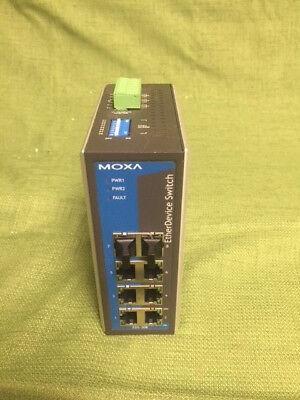 Ethernet Device Switch Model EDS-308-T Ltd Moxa Technologies Co.
