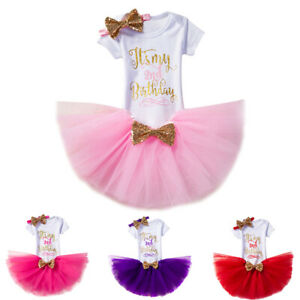 Baby Girl Birthday Cake Smash Outfit Baby 1st Birthday Shark Romper Tutu Skirt with Headband Clothes Set