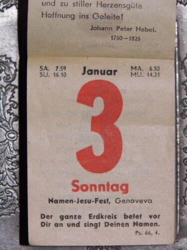 65.Geburtstag 3x Geschenk HOCHZEITSTAG original Kalenderblatt MÄRZ-APRIL 1954