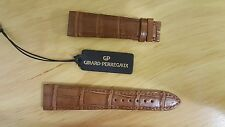 Girard Perregaux brown alligator strap 21mm