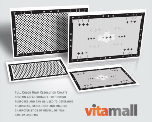 Complete Set of High Resolution Test Charts for Rodenstock Lens by Vitamall