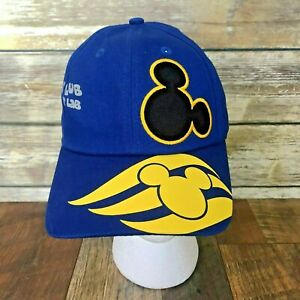 New-No-Tags-Disney-Cruise-Line-Blue-Hat-Cap-Oceaneer-Kids-Club-Lab-DCL