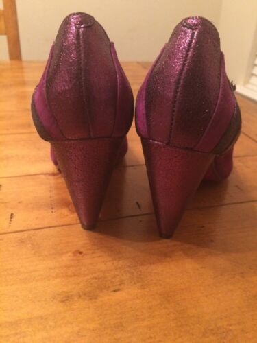 Heels Hello con alti taglia 9 5 Lovely Tacchi Grape licenza poetica ZI04nO