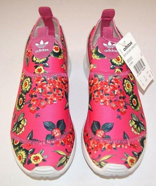 adidas flux zx rose print
