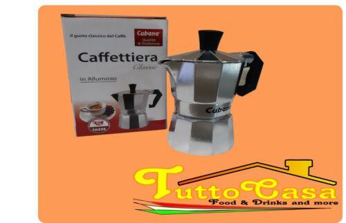 moka in alluminio Caffettiera cubana mezza tazza caffe espresso