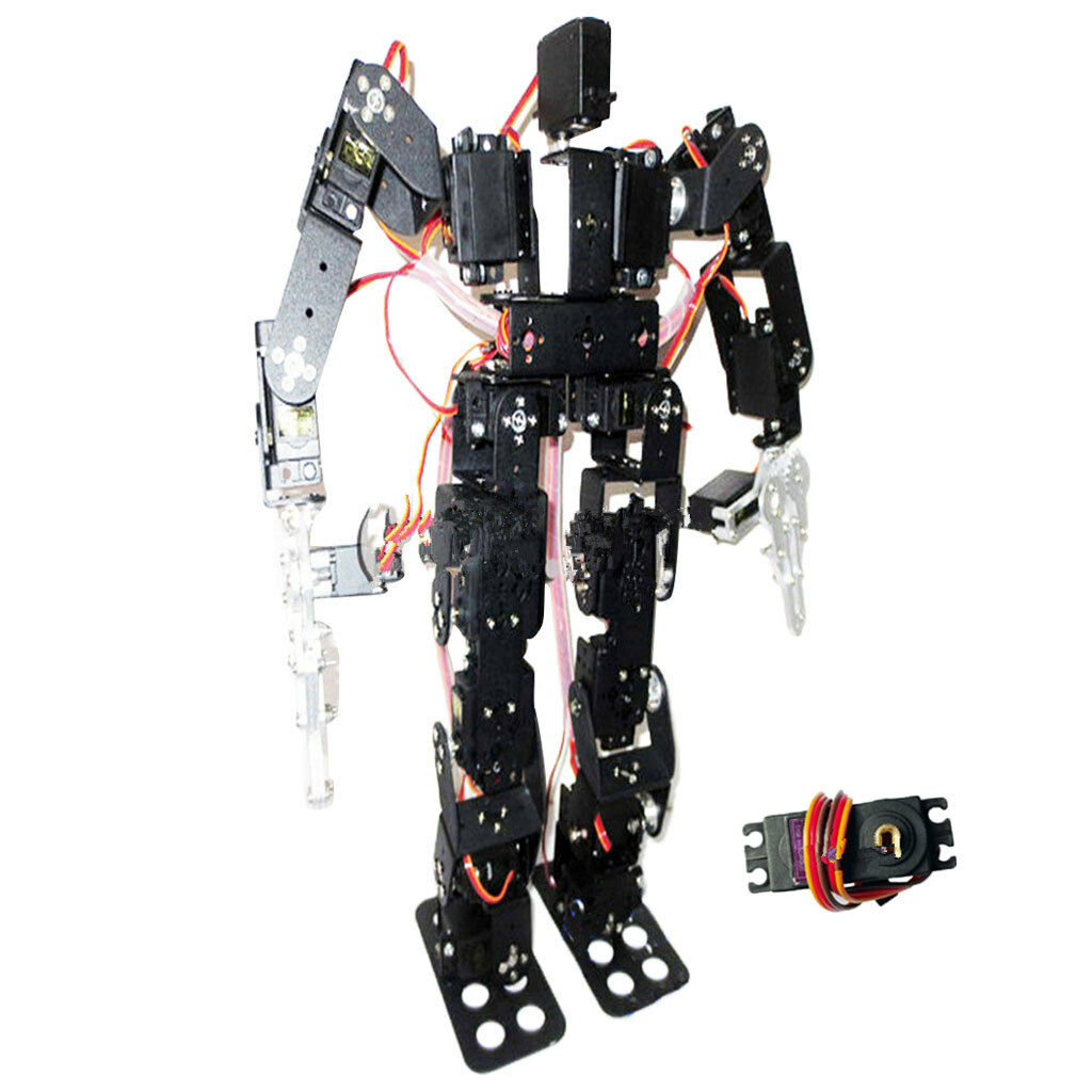 19-DOF Biped Humanoid Robot Kit with SR319 Digital Servos and Controller