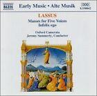 Lassus: Masses for Five Voices, Infelix Ego (CD, Naxos (Distributor))