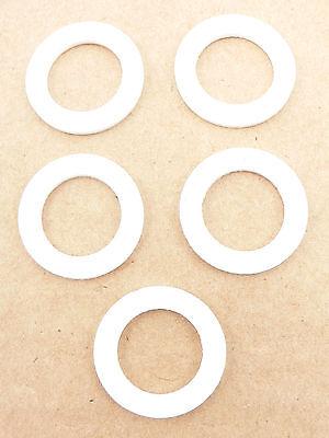 PRE-79069 (5 Pack) -6 AN Bulkhead Teflon Sealing Crush Washers Fuel Oil Coolant
